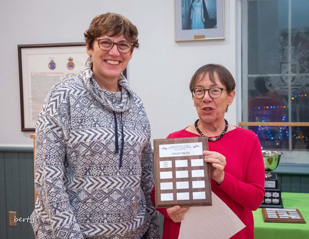 Laura Bryan and Kathy Kingsley-Bondy, Vegetables award