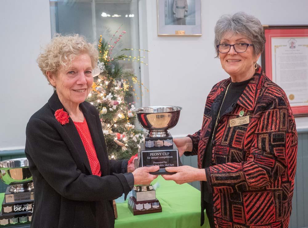Sandra Dowds, Peony Cup, Susan Carew